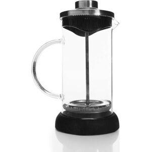 Černý French press pro přípravu kávy, 350 ml