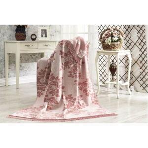 Bavlněná deka Aksu Lonicera,152x127cm