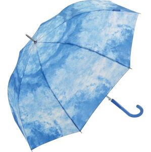 Modrý větruodolný deštník Ambiance Cloud Effect, ⌀122cm