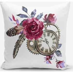 Povlak na polštář s příměsí bavlny Minimalist Cushion Covers Cep Saati Bird Tuyu, 45 x 45 cm
