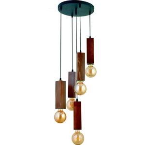 Závěsné svítidlo z habrového dřeva Dikdörtgen