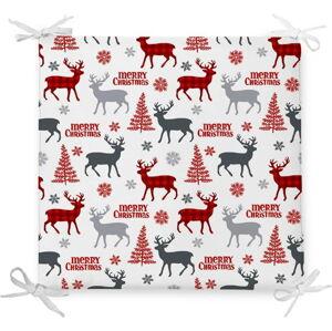 Vánoční podsedák s příměsí bavlny Minimalist Cushion Covers Christmas Tree,42x42cm