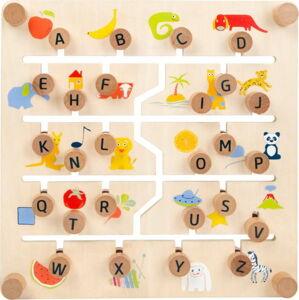 Dětská edukativní hra ze dřeva Legler Sliding