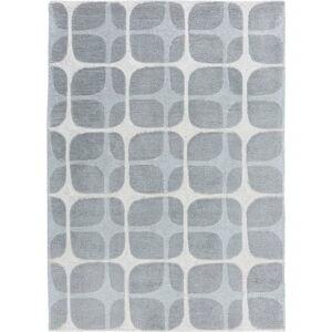 Šedý koberec Flair Rugs Mesh, 120 x 170 cm