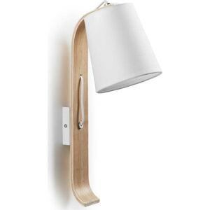 Bílá nástěnná lampa La Forma Percy