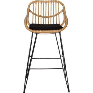 Ratanová barová židlička WOOX LIVING Ratta