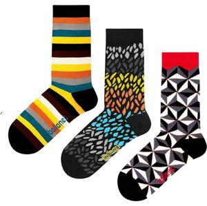 Set 3 párů ponožek Ballonet Socks Autumn v dárkovém balení, velikost 41 - 46