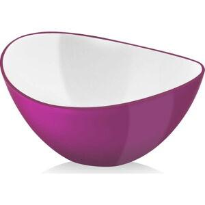Růžová salátová mísa Vialli Design, 16cm