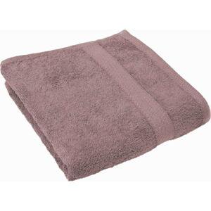 Fialovorůžový ručník Tiseco Home Studio, 50 x 100 cm