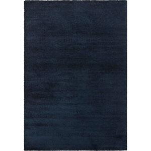 Tmavě modrý koberec Elle Decoration Glow Loos, 200 x 290 cm