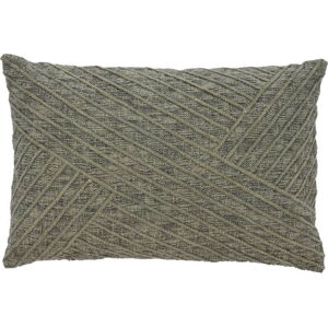 Zelený bavlněný polštář Södahl Amanda, 40 x 60 cm