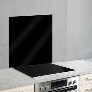 Černý skleněný kryt na zeď u sporáku Wenko, 70x60cm