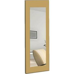 Nástěnné zrcadlo se žlutým rámem Oyo Concept Chiva,40x120cm
