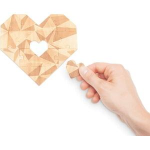 Puzzle se vzkazem Luckies of London Romantic Mint
