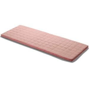 Růžová hrací matrace Flexa Room, 60 x 140 cm