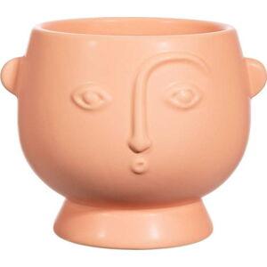 Růžový květináč Sass & Belle Surpised Face