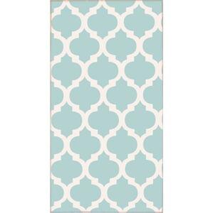 Světle modrý koberec Vitaus Elisabeth,80x150cm