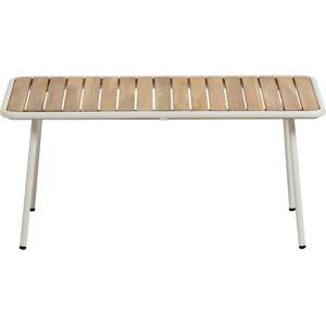 Zahradní konferenční stolek s deskou z akáciového dřeva La Forma Robyn