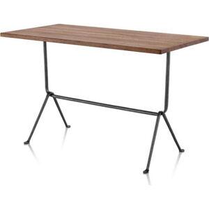 Barový stůl s deskou z ořešákového dřeva Magis Officina,délka80cm