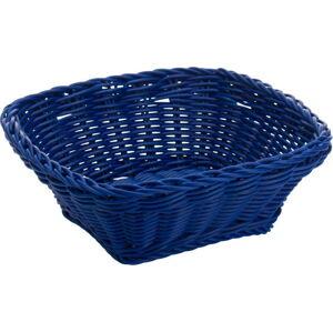 Modrý stolní košík Saleen, 19x19cm