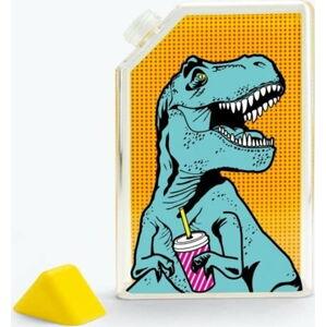 Cestovní lahev Just Mustard T-Rex,375 ml