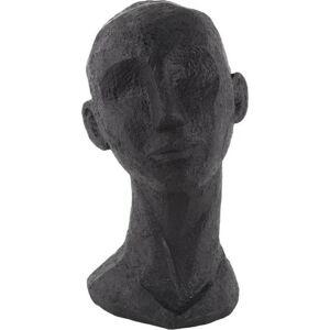 Černá dekorativní soška PT LIVING Face Art Lana, 28 cm