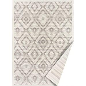 Bílo-šedý oboustranný koberec Narma Vergi, 100 x 160 cm