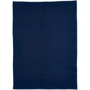 Modrá bavlněná kuchyňská utěrka Bitz Organic,80x55cm