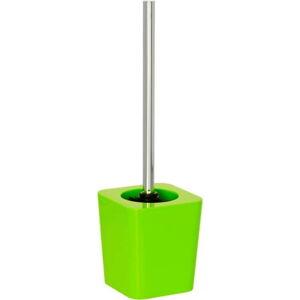 Zelený toaletní kartáč Wenko Candy