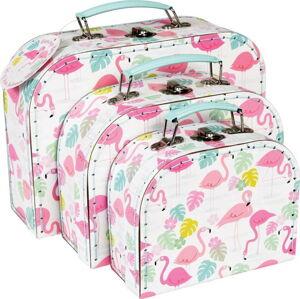 Sada 3 kufříků Rex London Flamingo Bay