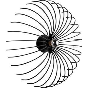 Černé nástěnné svítidlo Opviq lights Aspendos, ø 56 cm