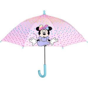 Růžový dětský deštník Ambiance Disney, ⌀76cm