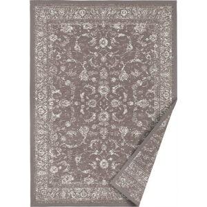 Tmavě hnědý oboustranný koberec Narma Sagadi, 100 x 160 cm
