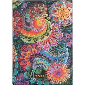 Týdenní diář na rok 2022 Paperblanks Moonlight, 13 x 18 cm