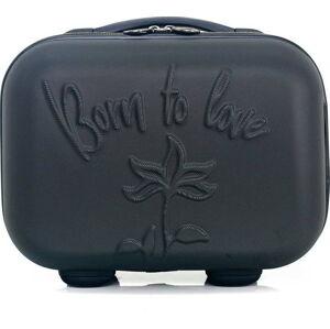 Černý kosmetický kufřík LPB Julianna, 10,3l