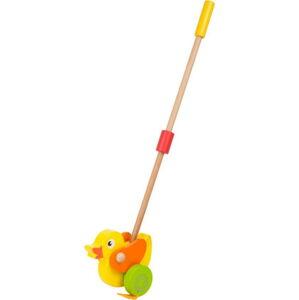 Dřevěná hračka na tyči Legler Animal Duck