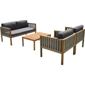 Set zahradního nábytku ze dřeva Ezeis Galupe
