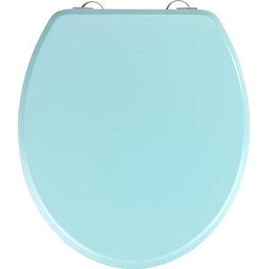 Světle modré WC sedátko Wenko Prima Light Blue, 41 x 37 cm
