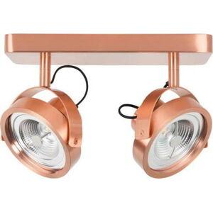 Stropní LED svítidlo v měděné barvě Zuiver Dice2