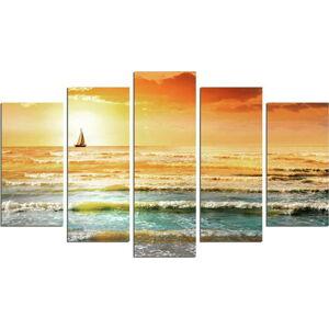 Vícedílný nástěnný obraz Sunset