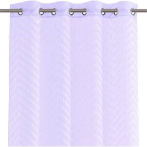 Světle fialový závěs AmeliaHome Molisa Eyelets,140x250cm