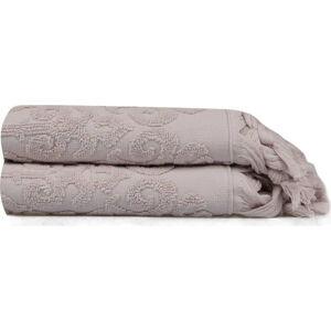 Sada 2 ručníků Madame Coco Theresa, 50 x 90 cm