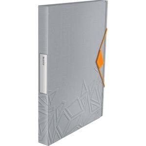 Šedý box na dokumenty Leitz, A4