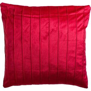 Červený dekorativní polštář JAHU collections Stripe,45x45cm