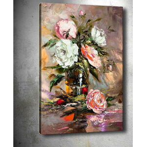 Obraz Tablo Center Vintage Roses, 50 x 70 cm