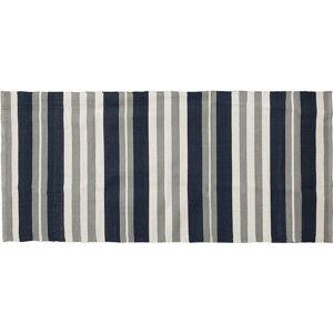 Šedo-modrý koberec La Forma Apus, 70 x 150 cm