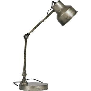 Stojací lampa ve stříbrné barvě WOOOD Hector, výška66cm