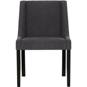 Antracitová židle Guy Laroche Creativity