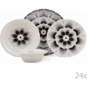 24dílná sada porcelánového nádobí Kutahya Fantara