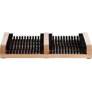 Dřevěný čistič bod Esschert Design Duo, 36 x 26,4 cm